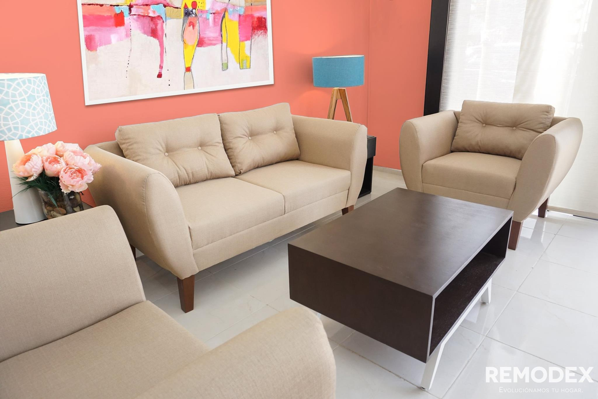 PAQUETE LOVE SEAT + INDIVIDUAL + INDIVIDUAL OVAL P70
