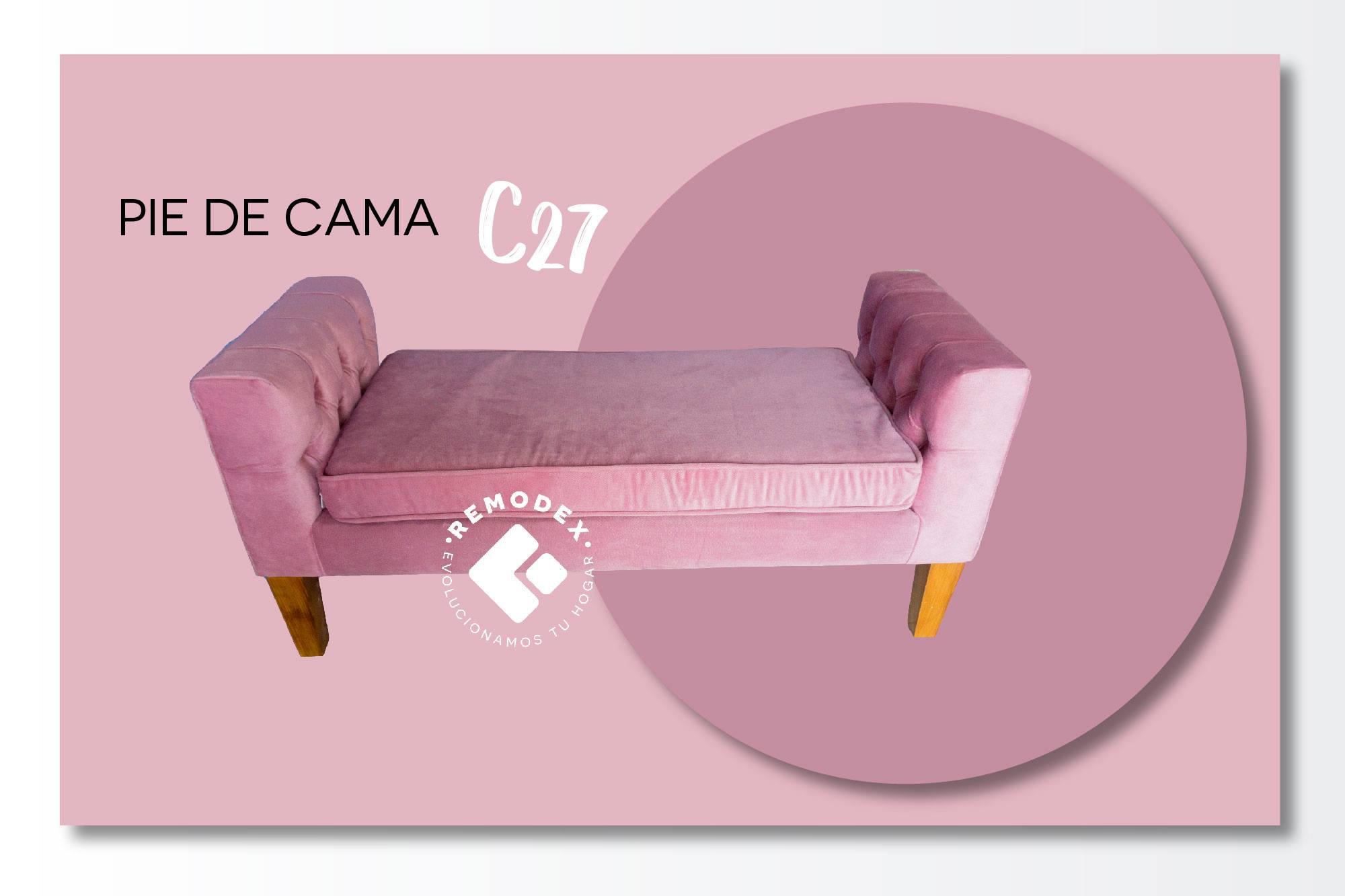 PIE DE CAMA C27
