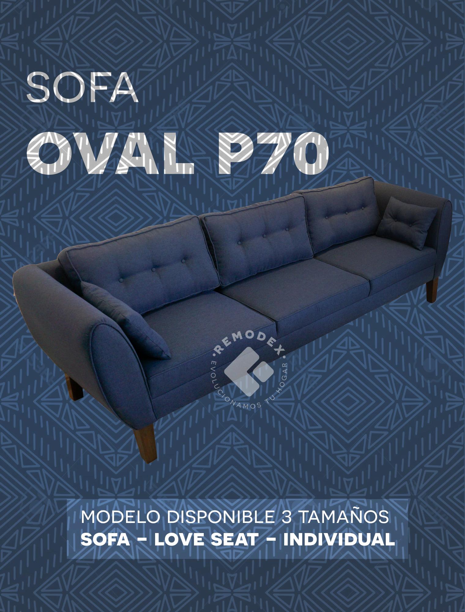 SOFÁ OVAL P70